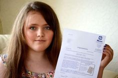 Nicole Barr, 12, earned a 162 — a perfect score — on her Mensa IQ test.