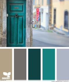 new ideas exterior paint colours for house gray design seeds Exterior Paint Colors, Paint Colors For Home, House Colors, Exterior Design, Paint Colours, Grey Colors, Colour Pallette, Colour Schemes, Color Combinations