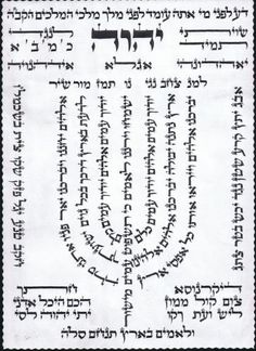 """There is a tradition brought down by the Chida that King David put the image of Tehillim 67 למנצח """"For the Conductor"""" in the form of a men. Arte Judaica, Cleveland Art, Hebrew Text, King David, Jewish Art, Torah, Judaism, Psalms, Lettering"""