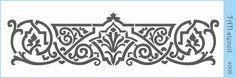 Трафарет объёмный TATI stencil 4008. цена: 50.00 грн. 29 х 10 см. Трафареты TATI stencil Hobby & Decor - товары для рукоделия