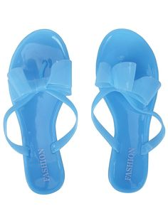 Simplicity Women Flat Heel Jelly Thong Sandals with Bow * Find out more details by clicking the image : Jelly Sandals Jelly Shoes, Jelly Sandals, Flat Sandals, Cute Bows, Womens Flats, Ladies Fashion, Womens Fashion, Summer Sandals, Sandals