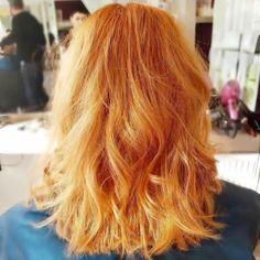Colour & Cut @ Jon Hurst Hairdressing.  #jonhursthairdressing #salon #bristol #hair #colour #wella #copper #fasioncolours #red #warmtones #cothamhill