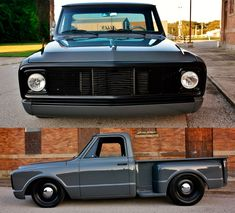 click picture to check out our merch store 1968 Chevy Truck, Custom Chevy Trucks, C10 Trucks, Chevy Pickup Trucks, Chevrolet Trucks, Classic Car Garage, Classic Pickup Trucks, Chevy Stepside, Chevy Pickups