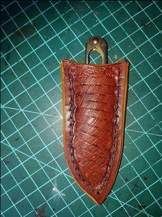 Etui cuir pour un coupe fil
