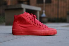 PF FLYERS CENTER HI – RED