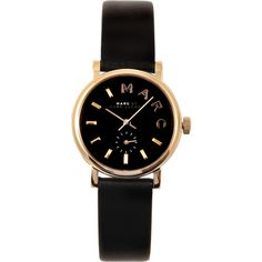 Marc By Marc Jacobs MBM1273 Baker Watch ($215) ❤ liked on Polyvore featuring jewelry, watches, accessories, bracelets, relojes, letter jewelry, marc by marc jacobs watches, marc by marc jacobs jewelry, marc by marc jacobs and water resistant watches