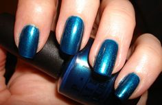 OPI Autumn/Winter 2010 Swiss Collection: Yodel Me On My Cell