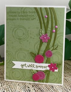 Sweet Swirls by inkpad - Cards and Paper Crafts at Splitcoaststampers