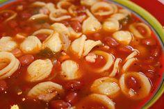 Pasta fagioli pasta fazool