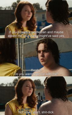 Easy A Tv Show Quotes, Film Quotes, Dirty Dancing, Easy A Film, Pulp Fiction, Movies Showing, Movies And Tv Shows, Grease, Favorite Movie Quotes