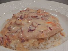 You must try this...Creamy Almond Chicken. Your family will LOVE it!