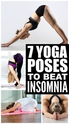 Whether you're feeling too stressed to sleep, or suffer from chronic insomnia, practicing a bedtime yoga sequence routine before bed can be a great way to send yourself off to dreamland. This collection of yoga poses is easy enough for beginners, and will help you find your way back to a good night of sleep. #yogaforbeginnersbedtime