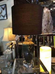 Antique Brass Bat Lamp On Sale   New Wiring, Base and Shade  Was $295 Sale Price $236  Dealer #426  Lost. . .Antiques 1201 N. Riverfront Blvd. Dallas, TX 75207  Moving Sale at Lost. . .An