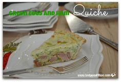 Green Eggs and Ham Quiche - Pic 2