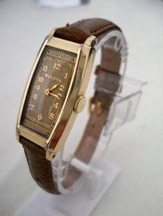 Very Rare vintage 1936 Bulova Farragut mens manual by watchman48
