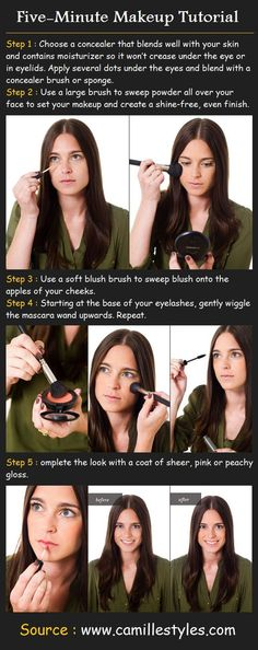 Five Minute Makeup Tutorial