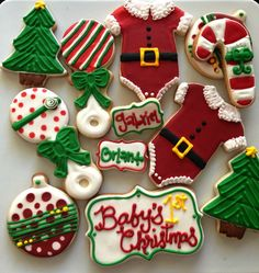 Babys First Christmas Cookies
