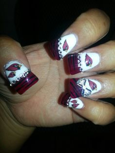 Arizona Cardinals Nails By One Of Our Creative Fans
