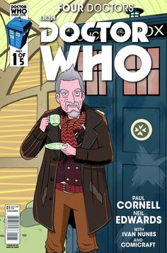 Four Doctors #1 (The Who Shop Variant by Marc Ellerby).