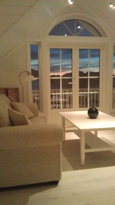stue loft lysmalt