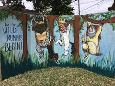 Where the wild things are!! Photo prop!