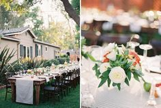 California Backyard Wedding: