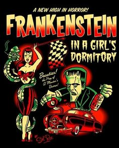 """Sol Rac: Poster MARS ATTACKS """" Outer Space Rockabilly """" The Heidelberg ..."""