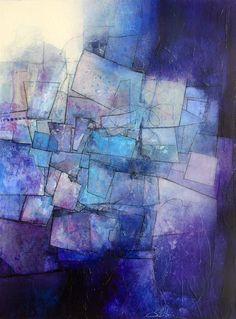 Inner Journey. Mixed media on canvas