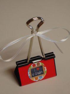binder clip gift card holder