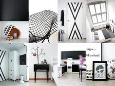 home interior collage