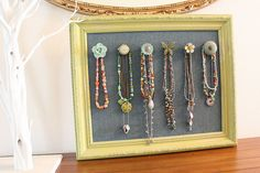 lovely necklace display