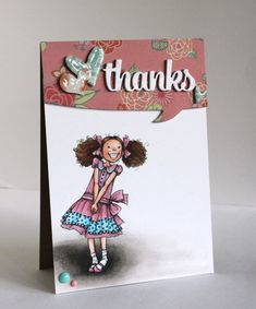 Alice Wertz: Alice's {Little} Wonderland –  Girly Girl Candy - 6/6/14.  (Paper Smooches dies: Hearts; Quote Tags-words; Quotables).  (Pin#1: Mo Manning.  Pin+: Children: Girls; Thanks...).