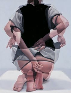 Doble exposure oil painting by Ho Ryon Lee