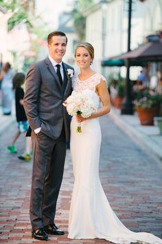 Elegant Blush Wedding in Classic Southern Style | Marissa Moss Photography on @artfullywed