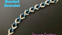 Beaded Jewelry Best collection of free jewelry making tutorials, craft ideas, design inspirations, tips and tricks and trends Armband Tutorial, Armband Diy, Beaded Bracelets Tutorial, Beaded Bracelet Patterns, Beaded Necklace, Embroidery Bracelets, Bracelet Designs, Making Bracelets With Beads, Bracelet Making