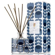 Buy Orla Kiely Lavender Scented Reed Diffuser, 200ml Online at johnlewis.com