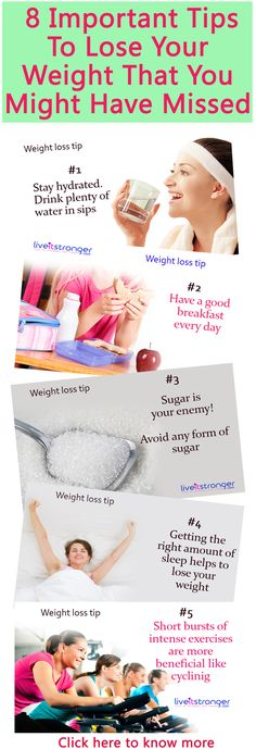Some important weight loss tips that you might have missed! #weightloss