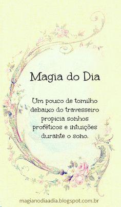 magia no dia a dia tomilho