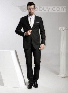 Superlite Plain Wedding Suit 2 Button (Two Piece Set) : Tidebuy.com