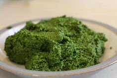 Super powered Kale & pumpkin seed, no miso, leave out parm