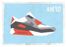 Nike Air Max 90 Minimalist Print