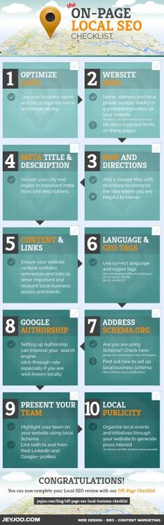 Local On-Page #SEO Guide