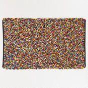 3'x5' Multicolor Cut Shaggy Rug World Market