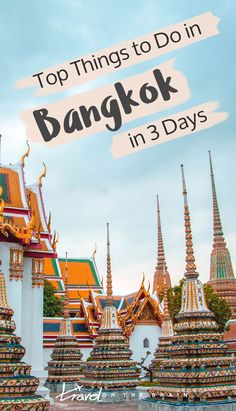 If you are reading this, you have most likely already booked your Thailand layover or short city break and are looking for the top things to do in Bangkok in 3 days. And there is a lot you can fit into a short Bangkok itinerary.