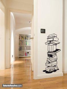 Vinilos Decorativos: libros