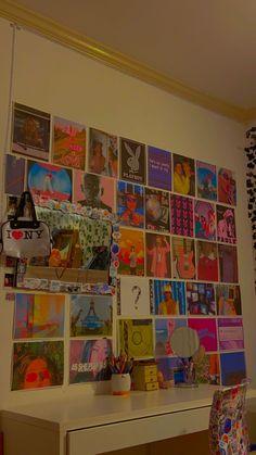 Cute Room Ideas, Cute Room Decor, Indie Room Decor, Hippie Bedroom Decor, Wall Ideas, Retro Room, Vintage Room, Bedroom Vintage, Ideas Decorar Habitacion