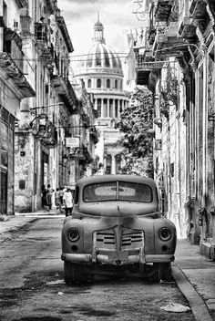 Streets of the capital - Havana, #Cuba. #Caribbean