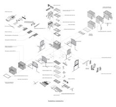 Image 12 of 20 from gallery of Workshop in the City / Romero Silva Arquitectos. Photograph by Bruno Giliberto Architecture Concept Diagram, Architecture Collage, Architecture Student, Pavilion Architecture, Landscape Architecture, Landscape Diagram, Map Diagram, Cad Drawing, Drawing Tips