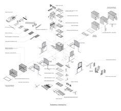 건축 도면 표기 방법 / 인테리어 도면 스타일 / Architectural Drawing Style - D.SPATIAL