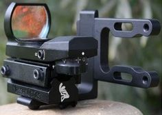 Scope Multi Reticle RedDot Sight Archery Bow with Mount